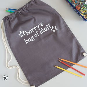 Personalised Kids Bag - winter sale