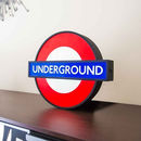 London Underground Light Up Sign