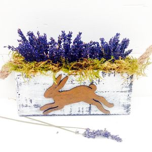 Hare And Moss Planter - flowers, plants & vases