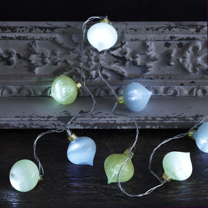 Green Moroccan Fairy Lights - christmas lighting