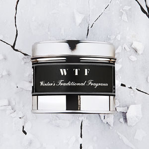 Scented Candle 'Wtf' Winter's Traditional Fragrance