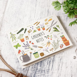 A Gardeners Plot Vegetable Patch Sticky Note Pad