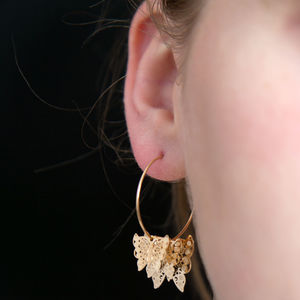 Butterfly 3D Earrings