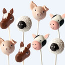 Farm Animal Cake Pop Set