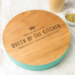 Personalised Serving Board For Women - kitchen accessories