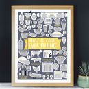 How To Cook Everything Kitchen Print