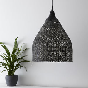 Pewter Moroccan Pendant Light