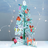 Woodland Creatures Advent Calendar - christmas decorations