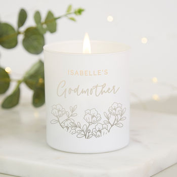 Godmother Mother's Day Gift Scented Candle
