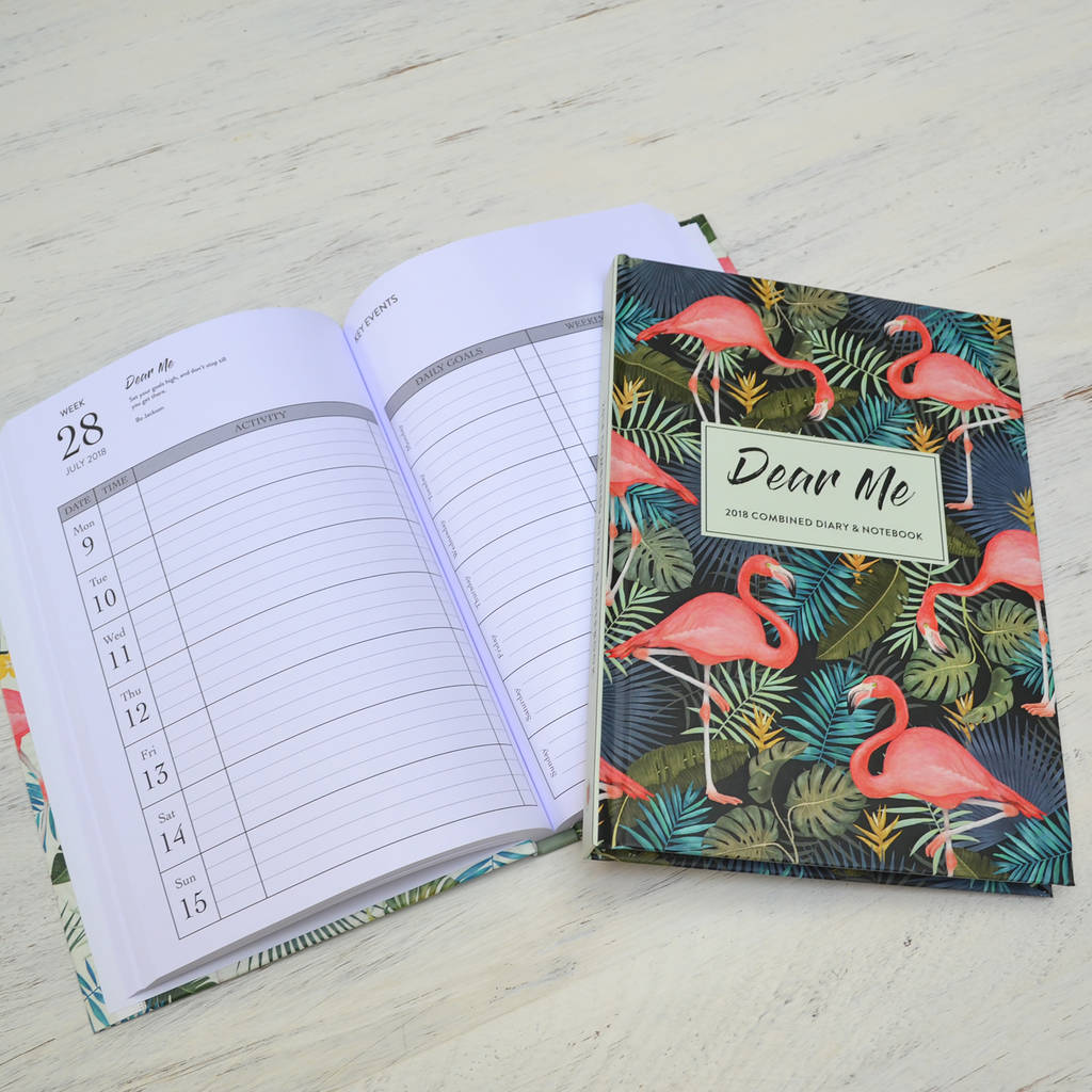 2018 Dear Me Diary And Combined Notebook