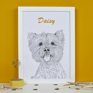 Personalised West Highland Terrier Print - animals & wildlife