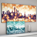 New York Cityscape Skyline Art Print