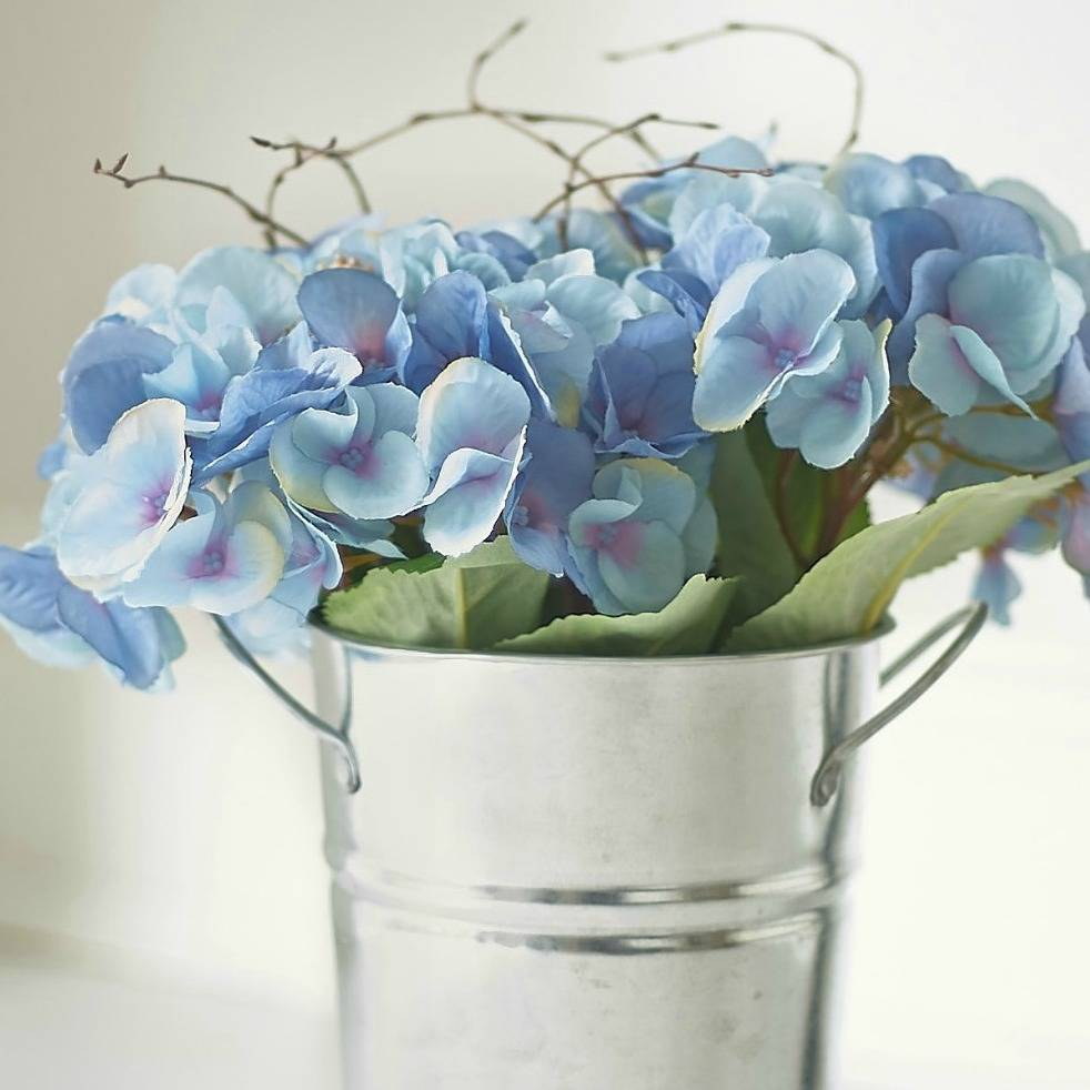 rise and shine faux hydrangea flowers by the flower studio ...