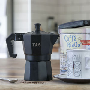 Personalised Coffee Maker - coffee lover