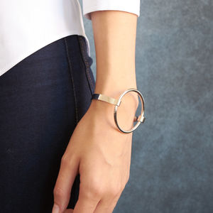 Sleek Round Bangle - gifts for her