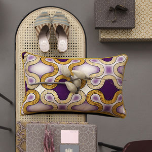 Africa Cushion Purple