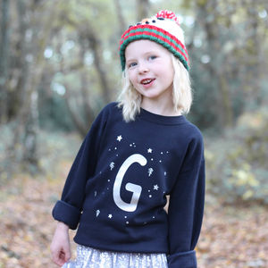 Personalised Initial Christmas Jumper