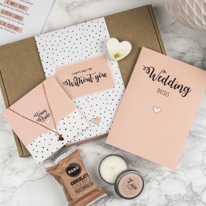Personalised Will You Be My Chief Bridesmaid Gift Box - be my bridesmaid?