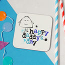 'Happy Daddy's Day' Father's Day Coaster