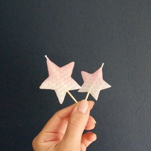Hand Dipped Star Candles