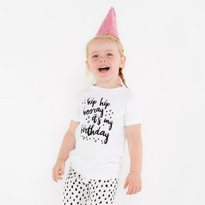 Children's Birthday Party T Shirt - slogan clothing