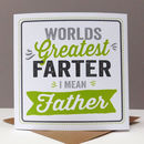 Farter Funny Father Card