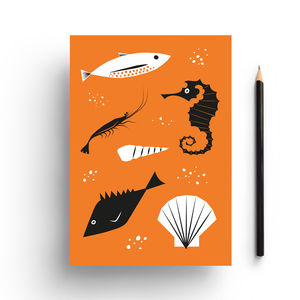 Under The Sea Notebook - notebooks & journals