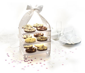 Mini Chocolate Pizza Wedding Favours