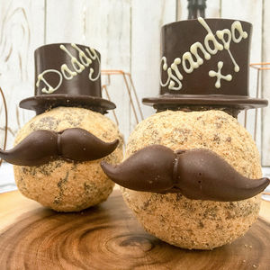 Cadbury Creme Scotch Egg With Hat And Moustache - chocolates