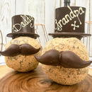 Cadbury Creme Scotch Egg With Hat And Moustache