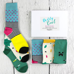 Daddy Cool Box Of Socks - new in fashion
