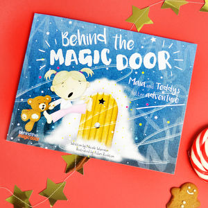 Personalised' Behind The Magic Door' Childs Book - books