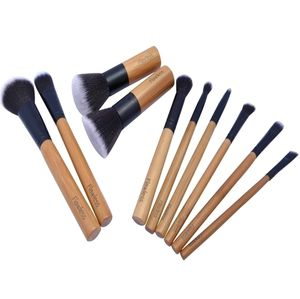 10 Piece Makeup Brush Set - make-up brushes