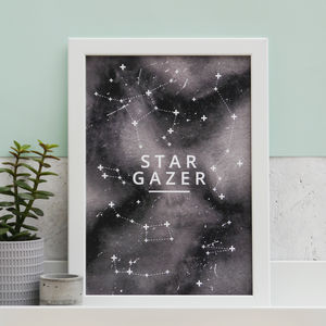 'Star Gazer' Print - summer sale