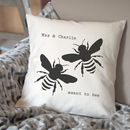 Meant To Bee Personalised Cushion