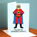 Supermum Personalised Mother's Day Card