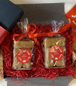 Christmas Indulgent Dog Biscuit Box