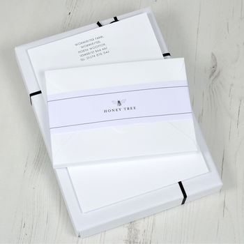 Classic Writing Paper Set With Gift Box