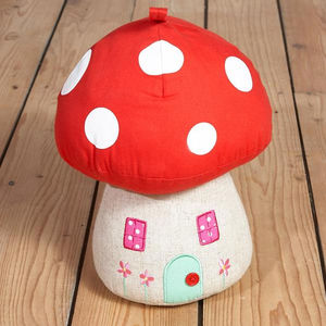 Toadstool Door Stop - baby's room