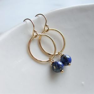 Lapis Lazuli Earrings - earrings