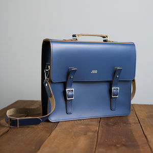 Personalised Leather Laptop Bag - gifts for him