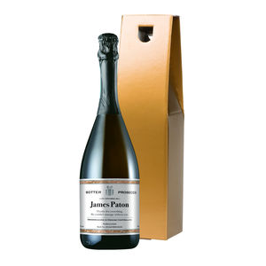 Personalised Prosecco - drinks connoisseur