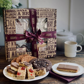 24 Baked Treats In A Gift Box
