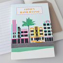 Travel Journal Miami Deco Personalised