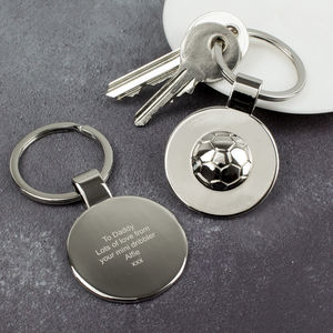 Football Keyring - keyrings
