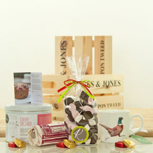 Pheasant Fruit Cake And Mallows Gift Hamper - hampers