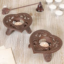 Heart Of The Home Cast Iron Tealight Holders