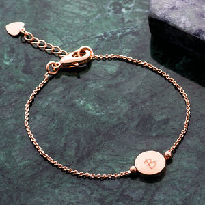 Personalised Skinny Initial Bracelet - gifts for her