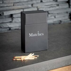 Metal Match Box Holder