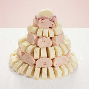 Fudge Wedding Cake - cakes & treats